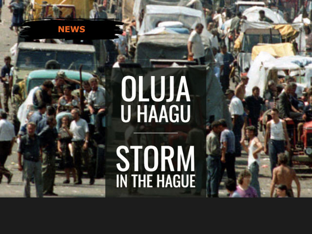Storm in The Hague