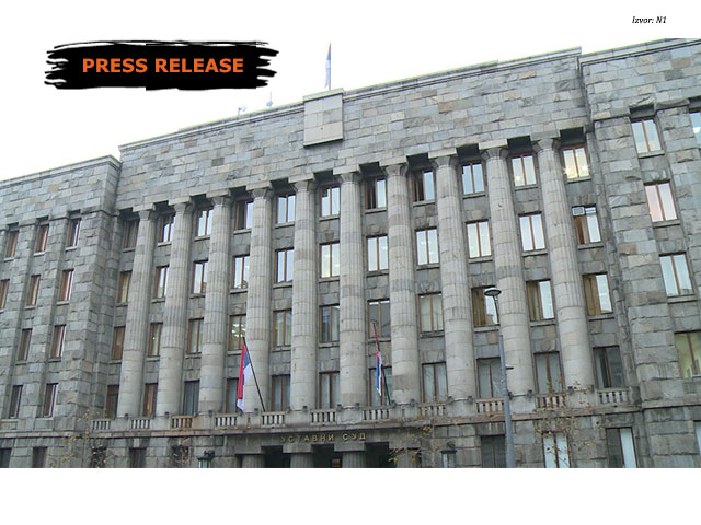 Initiative for Assessment of the Constitutionality of the Law on Free Legal Aid