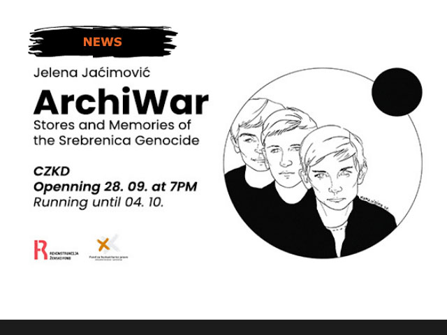Exhibition ArchiWar: Stories and Memories of the Srebrenica Genocide by Jelena Jaćimović