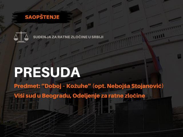 Povodom presude za ubistvo ratnog zarobljenika Ivana Sivrića u Kožuhama