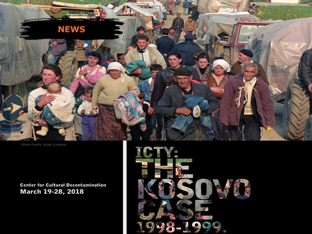 "EVENT ANOUNCEMENT: Exhibition ""ICTY: the Kosovo Case 1998-1999"""