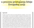"""""""Transitional Justice in Serbia's EU Accession Process"""": presentation of the analysis of the compliance with the EU acquis communautaire within Chapter 23 – Judiciary and Fundamental Rights, in the areas of war crimes and fundamental rights."""