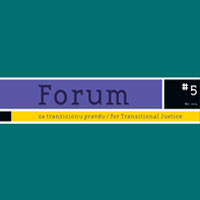 V Forum for Transitional Justice: History textbooks in post-conflict societies: Education for reconciliation?