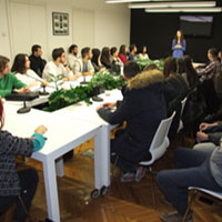 Youth Activists From Serbia and Kosovo Visit HLC