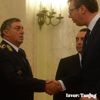 On the occasion of the retirement of Ljubiša Diković, the Chief of General Staff of the Serbian Armed Forces