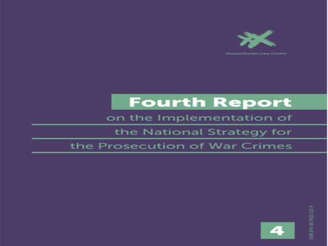 EVENT ANNOUNCEMENT: Presentation of the Fourth Report on the Implementation of the National War Crimes Prosecution Strategy