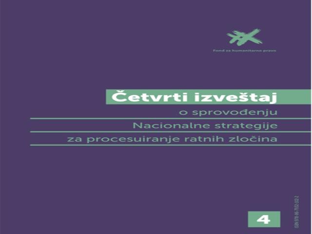 NAJAVA DOGAĐAJA: Predstavljanje Četvrtog izveštaja o sprovođenju Nacionalne strategije za procesuiranje ratnih zločina