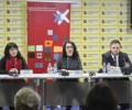 """The HLC's """"Policy Proposal: Improving the Rights and Status of Victims and Witnesses in War Crimes Proceedings"""" presented at a press conference in Belgrade"""