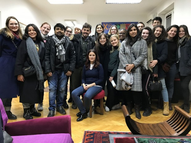 Students of Geneva Academy of International Humanitarian Law and Human Rights visited HLC